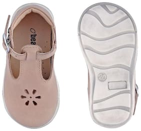 Beanz Beige Ballerinas For Infants