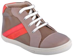 Beanz Olive Boys Casual shoes