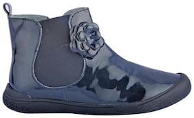 Beanz Black Girls Boots
