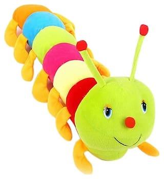 Beautiful Multicolour Caterpillar Teddy 55 cm