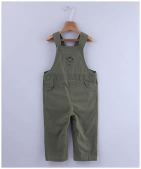 Beebay Baby boy Cotton Embellished Onesie - Green