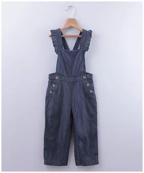 Beebay Baby girl Cotton Solid Onesie - Blue