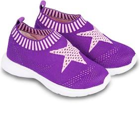 BEFIT JUNIOR Purple Girls Sport Shoes