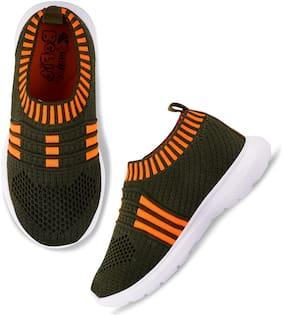 BEFIT JUNIOR Olive Girls Sport Shoes