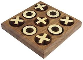 Being Creative Naught And Cross Game Wood Tac toe Game