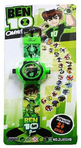 Ben 10 24 Image Projector Kids Watch Pack Of - 1 By Signomark.