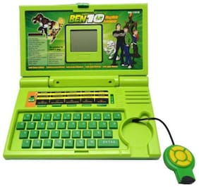 Ben 10 High Quality Educational English Learner Laptop With Mouse For Kids 20 Activities By Signomark.