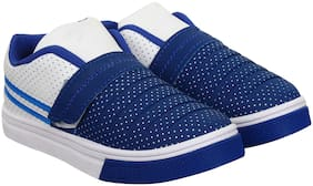 BERSACHE Blue Canvas shoes for boys