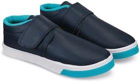 BERSACHE Blue Canvas shoes for boys