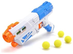 Bestie Toys 2 in 1 Soft Ball Shoot and water shoot Magic Gun for kids
