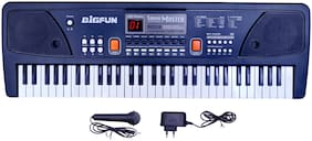 Beston 61-keys Bigfun Electronic Piano Keyboard with USB MP3 Play Function, LED Display & Microphone