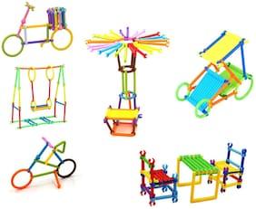 Beston Smart Sticks Creative Stacking Puzzle Toy Set