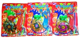 Beyblade 5D 1 with Sharp Metal Edge (pack of 3 )