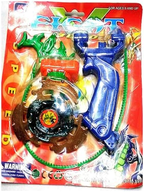 Beyblade Metal Beyblade with Sharp Edge, Size- 13/8 Cm ( Multicolour )