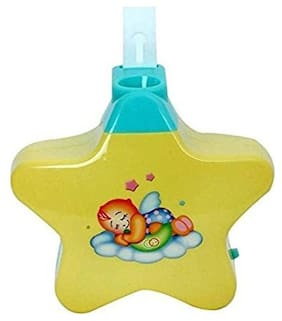 Bhoomi Baby Sleep Projector with Star Light Show and Music for Kids   P-03