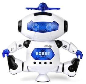 Bhoomi Dancing Robot with Music ||3D Flashing Lights || Dancing Naughty Robot for Kids||Colourful Flashing Lights|| R-06