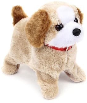 Bhoomi Fantastic Puppy Battery Operated Jumping Dog    Back Flip Jumping Dog    A-12