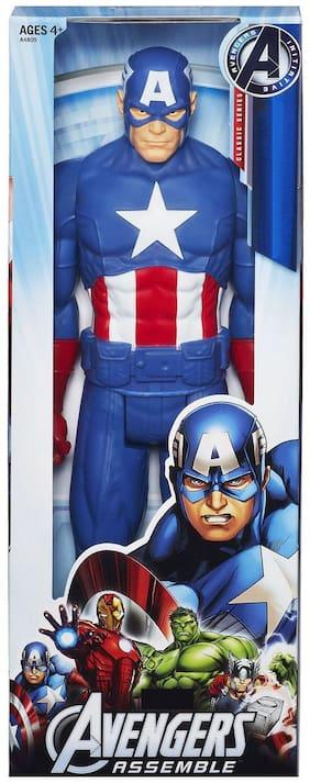 Big Size 11 inch Captain America Classic Titan Ultimate Super Power Action Hero-3