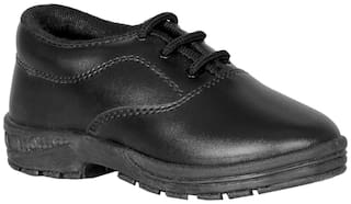 Polo Black Boys School Shoes