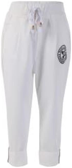 BLISARA Girl Cotton Trousers - White