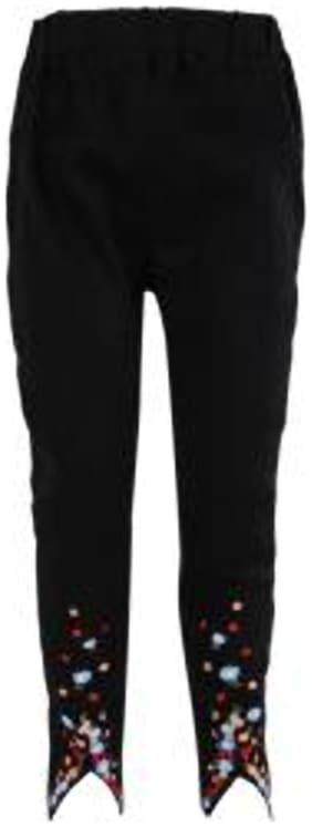 BLISARA Girl Cotton Trousers - Black