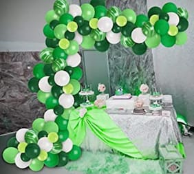 Blooms Safari Color theme Decoration _ Pack of 100 balloons
