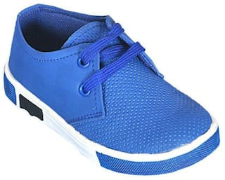 SIM STYLE Blue Canvas shoes for boys