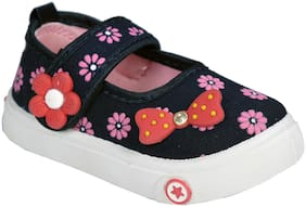 SIM STYLE Blue & Pink Ballerinas For Girls