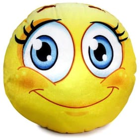 """Blush"" Emoji Decorative Cushion"