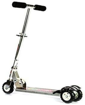 BN ENTERPISE  Heavy Metallic Big Size 3 Wheel Height Adjustable Scooter Play for Kids