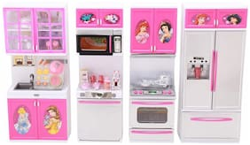 BN ENTERPRISE Complete Princess Kitchen Activity Sets