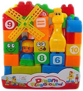 BN ENTERPRISE Samaira Toys 40 Piece Brick Builder Toy for Kids