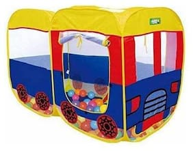 BN ENTERPRISE  Kids House for Play and Fun, Gift for Baby Pop Up Bus Shaped