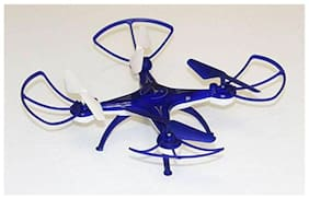 BN ENTERPRISE Drone H010, Quadcopter 6-AXIS GYRO, 360 deg, with USB Charger and RC. (Blue)