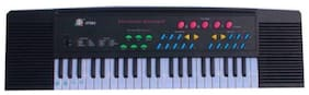 BN ENTERPRISE Piano Keyboard With Microphone Black