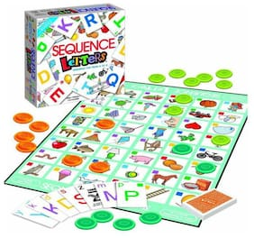 BN ENTERPRISE Sequence Letter Game - Sequence Game from A-Z for Kids & Teenagers