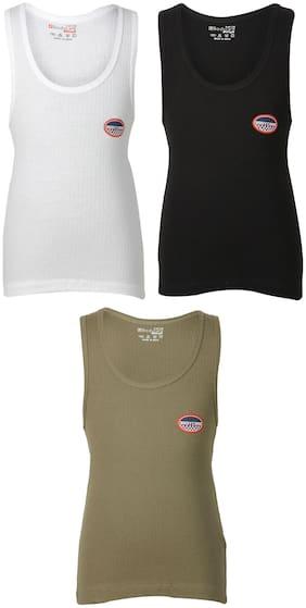 Bodycare Vest For Boys - Multi , Set of 3