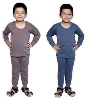 Bodysense Boy Wool Solid Sweater - Multi