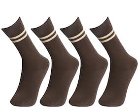 Bodysense Boy Cotton Socks - Brown