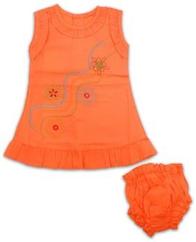 Born Babies Baby girl Top & bottom set - Orange