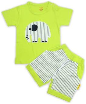 Born Babies Unisex Top & bottom set - Green
