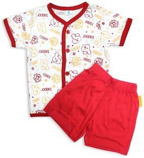 Born Babies Baby boy Top & bottom set - Red
