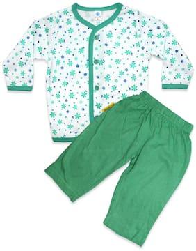 Born Babies Baby boy Top & bottom set - Green