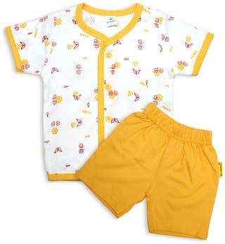 Born Babies Baby boy Top & bottom set - Yellow