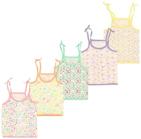 Yellow Chilli Cotton Printed Top for Baby Boy - Multi