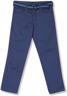 CHEROKEE Boy Solid Trousers - Blue