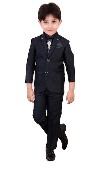 051f495867 Boys Coat Suit with Shirt Pant and Tie Kids Wear by Arshia Fashions - 2 -