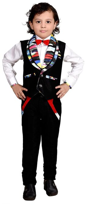 Boys Designer Pant shirt with koti for party were and wedding by J D Creation