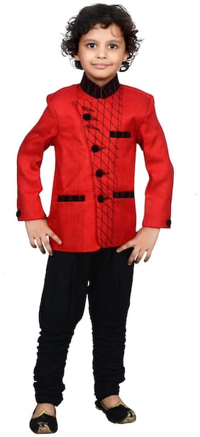 Boys Designer Indo Western for party wear and wedding by J D Creation
