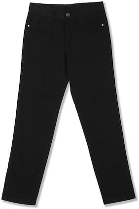 CHEROKEE Boy Solid Trousers - Black